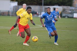 AFC Dunstable were victorious on Tuesday night