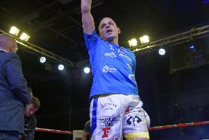 Dave Birmingham bids to make history on Saturday. Picture: Neil Marshall