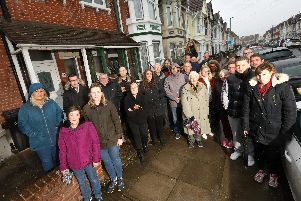 Residents angry about plans fro an HMO in Wadham Road, North End Picture: Chris Moorhouse       (030319-29)