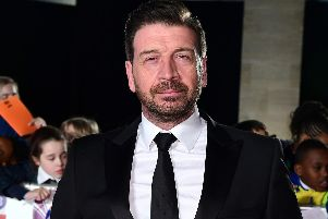 Nick Knowles has been filming in our area this week. Picture: Ian West/PA Wire