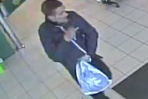 CCTV image of the man police are looking to identify