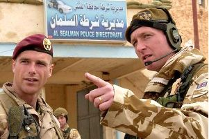 Lieutenant Colonel (retired) Chris Parker, right, is outraged over the treatment of Soldier F.