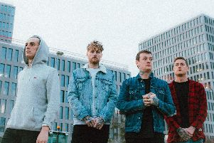 Deaf Havana, who will be playing at The Pyramids Centre, Southsea, March 2019