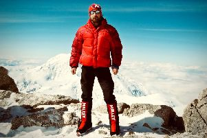 Lieutenant Colonel (Royal Marine) Joe Winch, 40, of Gosport, will be looking to summit Mount Everest to inspire others to overcome their PTSD