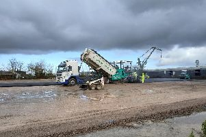 Land at Tipner West, in Portsmouth, where preparations are being made in the event of a no-deal Brexit in case it affects Portsmouth port. Picture: Portsmouth City Council