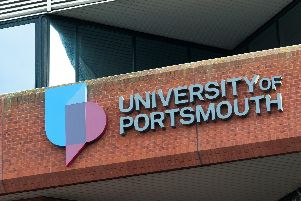 The University of Portsmouth. Picture: Duncan Shepherd
