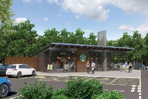 Plans for a new Starbucks at the Kettering Road Morrisons have run up against objections.