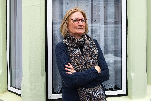 Hilary Beagley at her Southsea home. Picture: Malcolm Wells