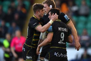 Alex Mitchell and Co will aim to end their difficult run against Saracens
