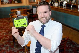 Sir Alec Rose pub in Port Solent, has been awarded a five star hygiene rating. Pictured is: Manager Philip Walter-Nelson. Picture: Sarah Standing (110319-1520)