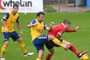 Matt Tubbs & Co are on a mission to get the goals back flowing. Picture: Neil Marshall (180923-151)