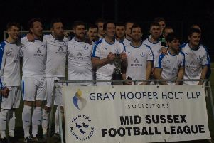 Hurstpierpoint lift the cup