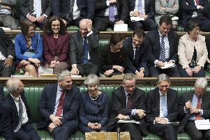 MPs voted to delay Brexit last night. Picture: UK Parliament/Jessica Taylor /PA Wire
