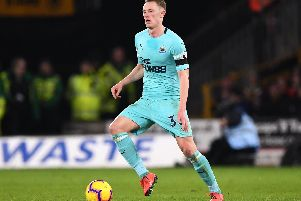 Sean Longstaff has impressed for Newcastle this season. Picture: Stu Forster/Getty Images