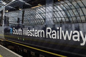 South Western Railway has warned passengers its trains from Portsmouth to London Waterloo 'may be busier than usual' when Portsmouth FC play in the Checkatrade Trophy final at Wembley Stadium on Sunday. Picture: Victoria Jones/ PA Wire