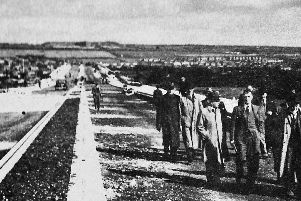Although construction began 20 years earlier, the Eastern Road was completed and opened on May 6, 1942.
