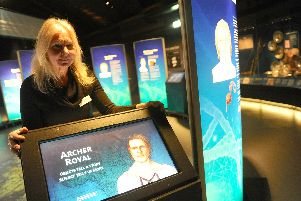 Dr Alexzandra Hildred, head of research at the Mary Rose. Picture: Sarah Standing (180319-2254)