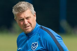 Pompey Academy boss Mark Kelly.  Picture: Keith Woodland