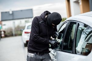 Police in Waterlooville have warned of a surge in vehicle break-ins by thieves and have now issued some advice to residents.'Photo posed by model.