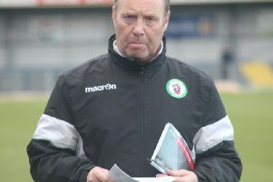 Burgess Hill Town assistant manager John Rattle.