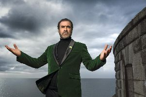 Eric Cantona at the Solent Forts