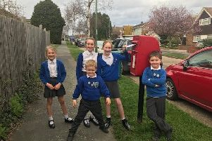 Billingshurst Primary School pupils are urging education secretary Damian Hinds to listen to headteachers over school funding  SUS-190321-144727001
