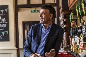 Chris Kamara could be joining loyal Portsmouth sports fans on the sidelines. Picture: Hungry Horse