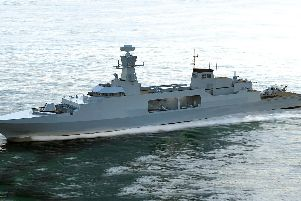 The Type 31e frigate