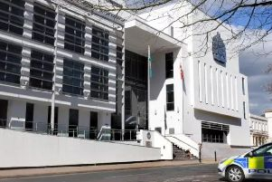 Liam O'Rourke was jailed at Warwick Crown Court for 14 months after pleading guilty to the burglary and a further charge of theft.