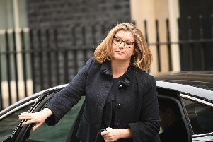 Defence secretary Penny Mordaunt arrives in Downing Street, London. Picture: Stefan Rousseau/PA Wire