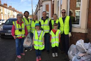 Litter pickers also took to Towcester Road (between the roundabout by the garage and the Post Office) and cleared up around Far Cotton Rec Centre and the grounds of Towcester Road Methodist Church.