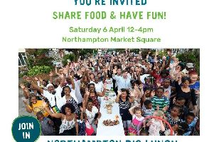 The Big Lunch will take place this Saturday on the Market Square and everyone is invited.