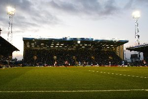 Fratton Park's iconic floodlight pylons will be used for the final time tomorrow night. Picture: Chris Ison/PA Wire