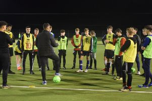 Crawley Town Community Foundation are holding trials for their under-14s team SUS-191104-165548002