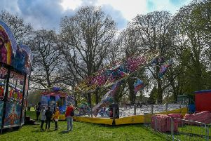 Frank's Fun Fair at Abington Park will be making the most of the good weather this Easter