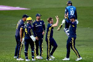 Hampshire have the winning mentality. Liam Dawson & Co have made a flying start to the Royal London One-Day Cup campaign. Picture: Jordan Mansfield/Getty Images