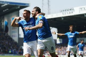 Pompey won against Coventry. Picture: Joe Pepler