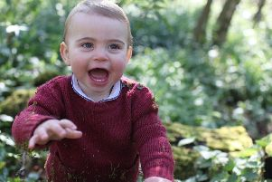 Prince Louis turns one today. Pictue:: Duchess of Cambridge/PA Wire