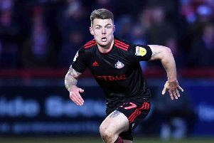 Sunderland midfielder Max Power