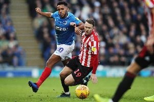 Nathan Thompson will again do battle with Aiden McGeady on Saturday. Picture: Joe Pepler