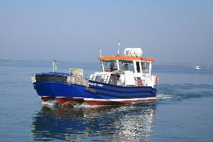 The Hayling ferry, which travels between Eastney and Hayling Island. Picture: Colin Hill