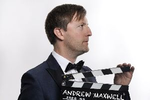 Andrew Maxwell is at The Spring Arts Centre, Havant on April 27, 2019. Picture by Steve Ullathorne
