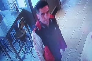 Police want to talk to this man in relation to two sneak thefts in Chichester. Picture: Sussex Police