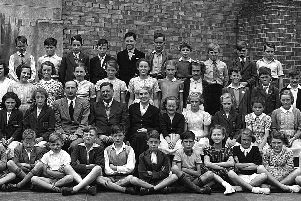 A class at St Judes School in 1949 which contained  44 children. Picture: Portsmouth Evening News/Michael Harris Collection