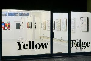 Yellow Edge Gallery in Stoke Road, Gosport. Picture: Steve Buggle