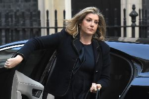International Development Secretary Penny Mordaunt arrives for a cabinet meeting at 10 Downing Street, London.  Kirsty O'Connor/PA Wire