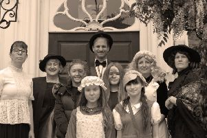 Pupils and staff  hold a Victorian Day to celebrate 140 years of King's High