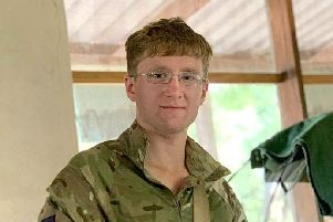 British soldier Mathew Talbot, of The 1st Battalion Coldstream Guards, who has died while on counter poaching operations in Malawi. Picture: Ministry of Defence/PA Wire