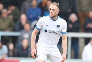 Gareth Evans fears Matt Clarke will this summer be lured from Fratton Park should Pompey fail to win promotion. Picture: Joe Pepler
