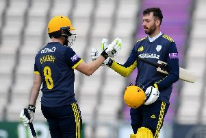 There is hope James Vince could still feature for Hampshire if he doesn't play for England. Picture: Harry Trump/Getty Images